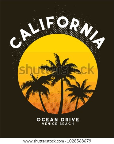 california sunset t shirt...
