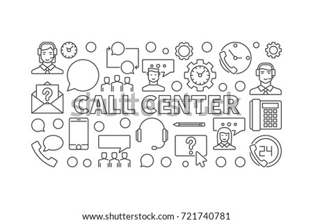 call center outline