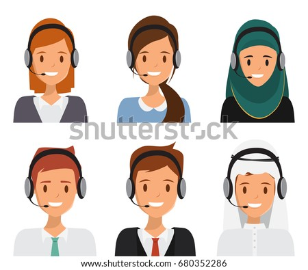 free vector live chat avatars download free vector art stock