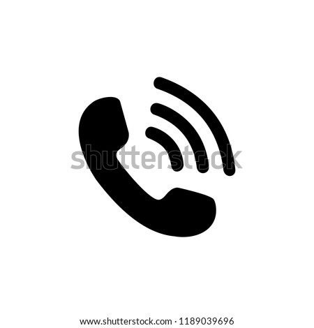 Call icon symbol vector. Mail Icon Symbols vector. symbol for web site Computer and mobile vector.