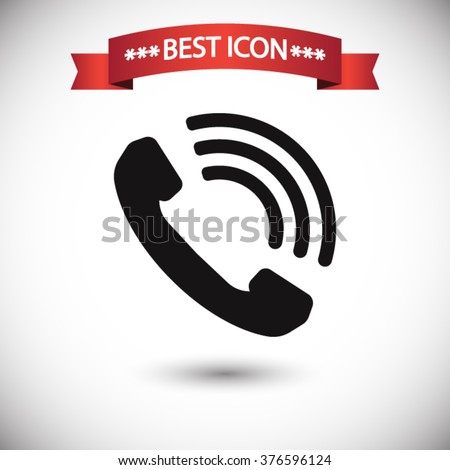 call icon vector  call icon