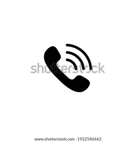 Call icon vector for computer, web and mobile app