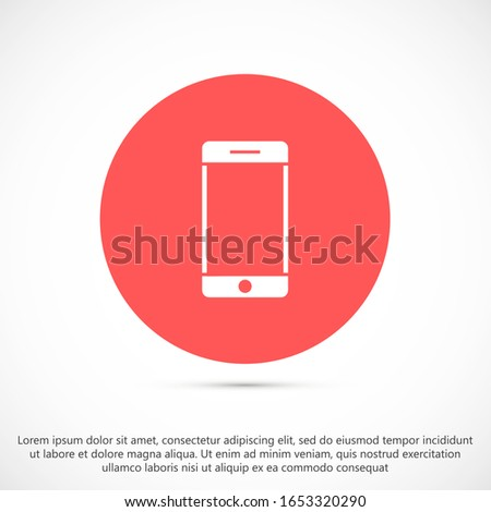 Call icon vector. Phone icon vector. mobile phone. telephone icon/Phone icon in trendy flat style isolated on grey background. Handset icon with waves. Telephone symbol for your web site design