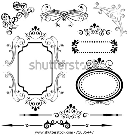 Borders and Frames Designs