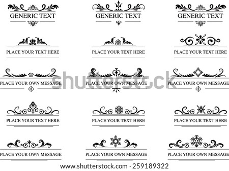 stock-vector-calligraphic-design-elements-and-page-decoration