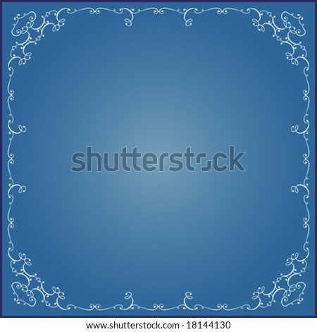 Calligraphic Frame, Border Designs Stock Vector ...  Shutterstock Border Design Free Download