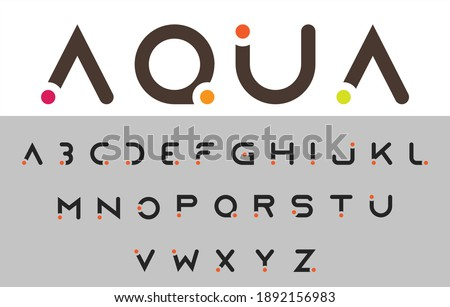 calligraphy alphabet capital lettering a to z font family Stock fotó ©