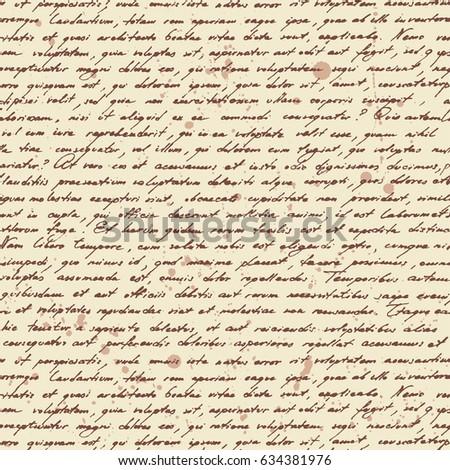 calligraphy classic lorem