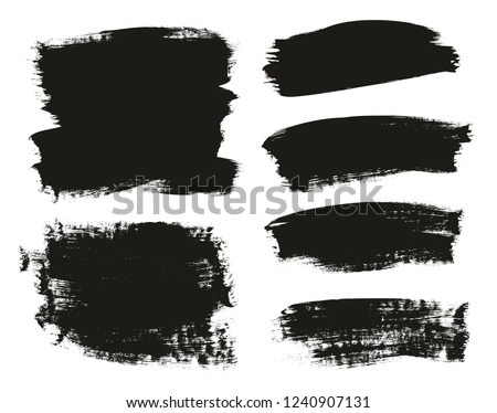 Calligraphy Paint Brush Background Mix High Detail Abstract Vector Background Set 42