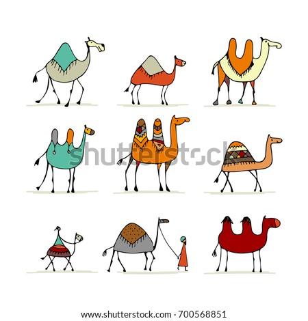 camel set  sketch for your
