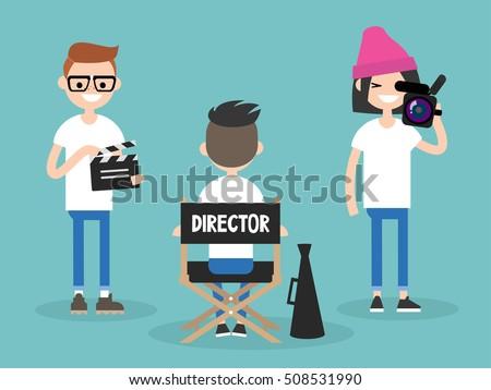 camera crew  director