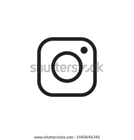 camera icon design flat vector