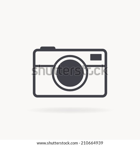 camera icon , vector illustration