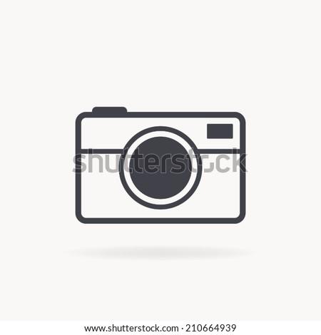 camera icon , vector illustration