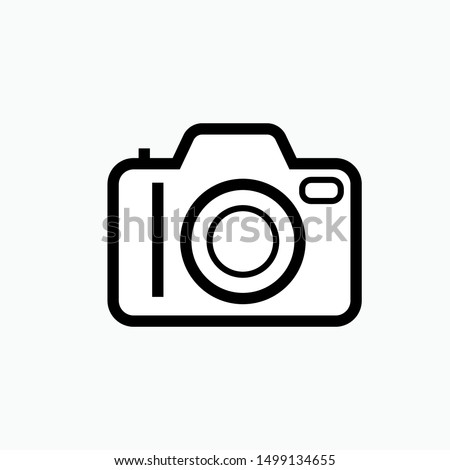 Camera Icon - Vector, Sign and Symbol for Design, Presentation, Website or Apps Elements.