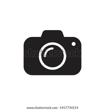 Camera Icon Vector Simple Design Photo stock ©