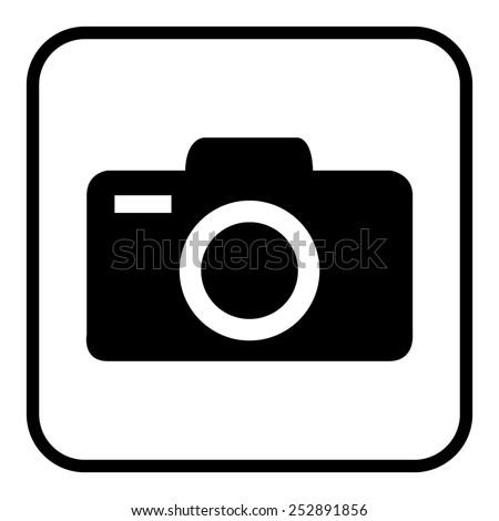 Camera icons. Vector illustration. Photo stock ©