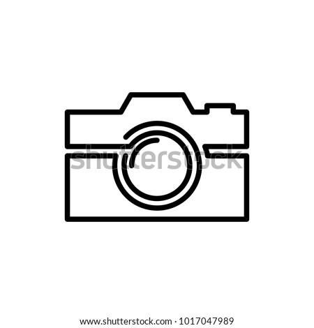 Camera Lineart Logo