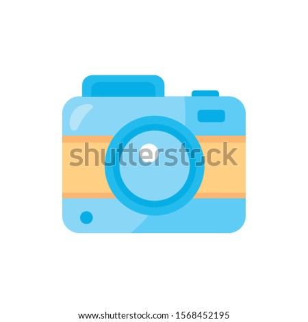 camera photographic device isolated icon vector illustration design