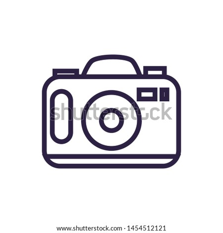 camera photographic digital device icon