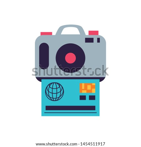 camera photographic digital with credit card