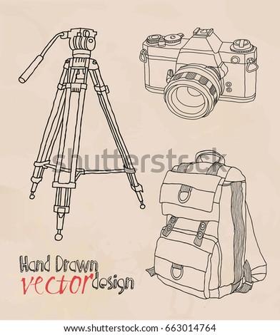 camera retro set