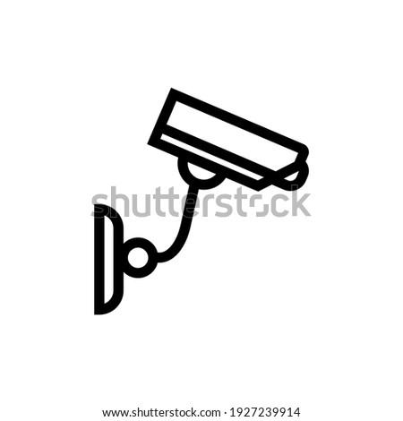 camera security or cctv icon vektor simple desain Stock foto ©