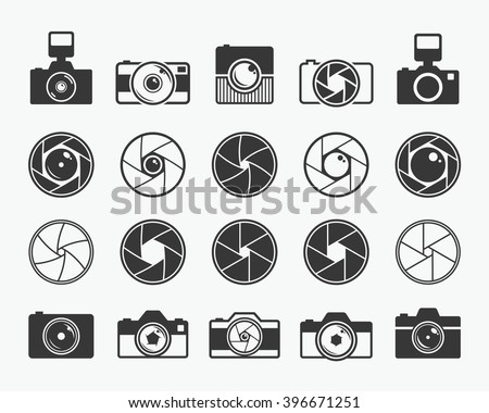 camera shutter  lenses and
