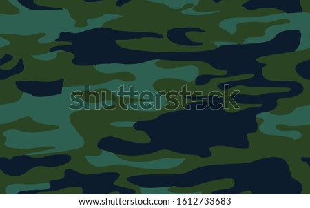 Camouflage Army skin seamless full textile military textile products Background Pattern Vector illustration