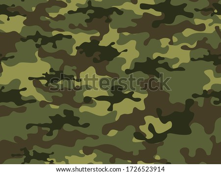 camouflage military pattern