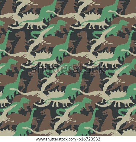 camouflage pattern of dinosaur