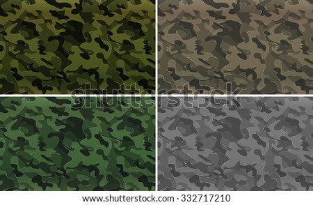 camouflage pattern with
