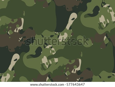 camouflage seamless pattern in