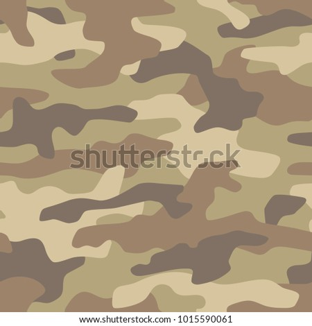 Camouflage seamless pattern. Vector illustration.