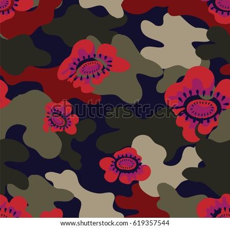 10 Camouflage Patterns | Free Photoshop Patterns at Brusheezy!