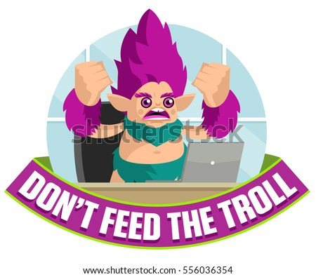 campaign against angry troll