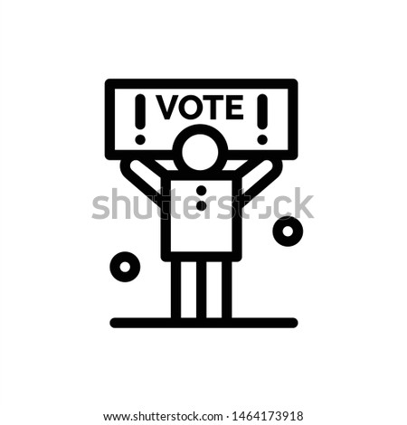 Campaign, Political, Politics, Vote  Blue and Red Download and Buy Now web Widget Card Template. Vector Icon Template background