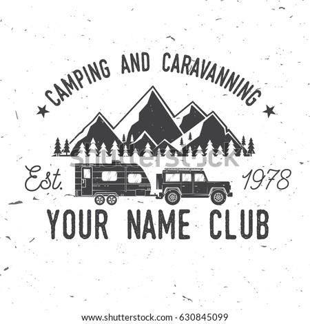 camper and caravaning club....