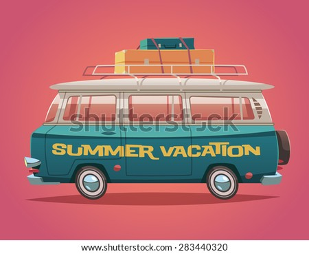camper van. summer vacation....