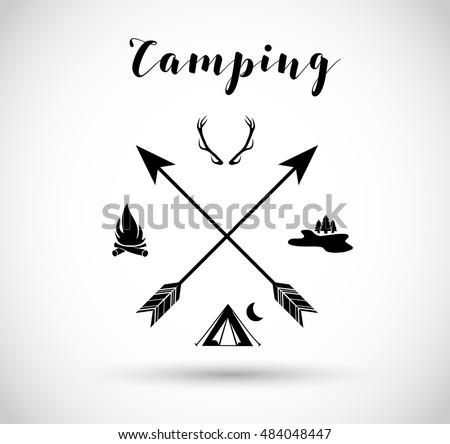 camping  hunting sign