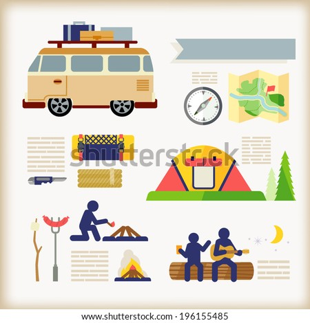 camping infographic s