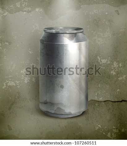 Can, old-style vector