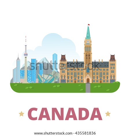 canada country design template
