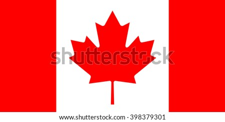 canada flag  official colors