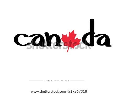 canada icons design travel