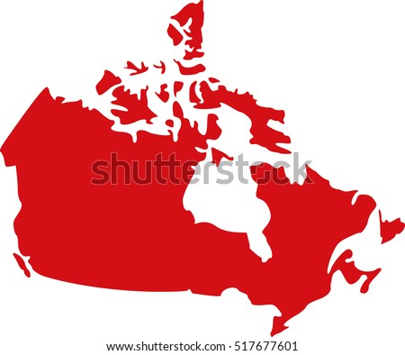 Canada Day Vector Map Download Free Vector Art Stock Graphics