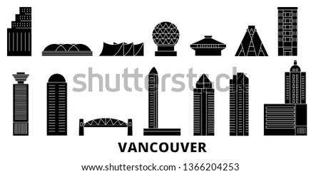 canada  vancouver flat travel