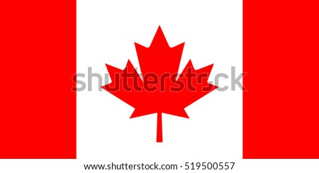 canada vector flag official