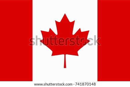 canada vector flag vector