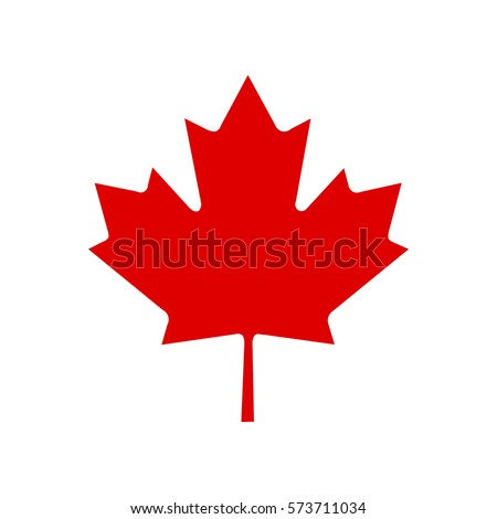canada vector symbol maple leaf